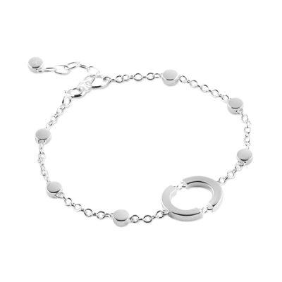 Linked Circle bracelet