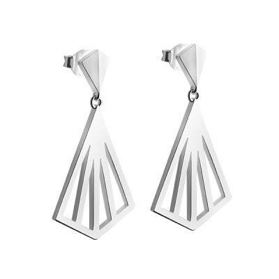 Kite wide earrings