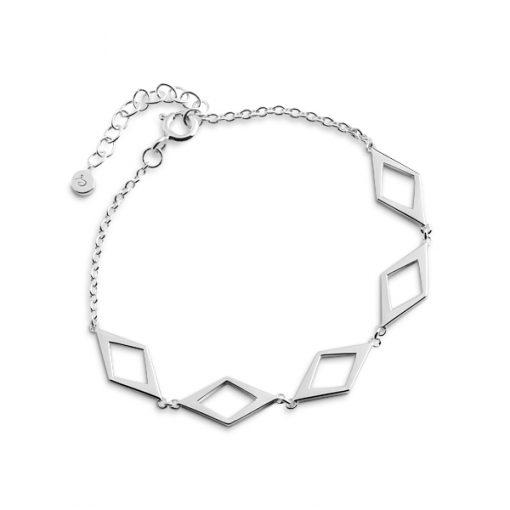 Rhomb fivefold bracelet