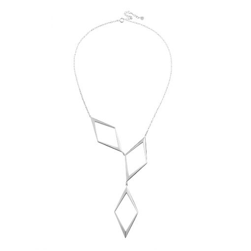 Rhomb grand necklace