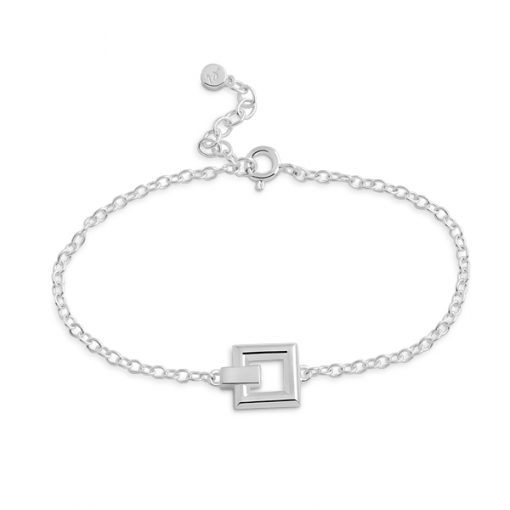 Detail: square bracelet