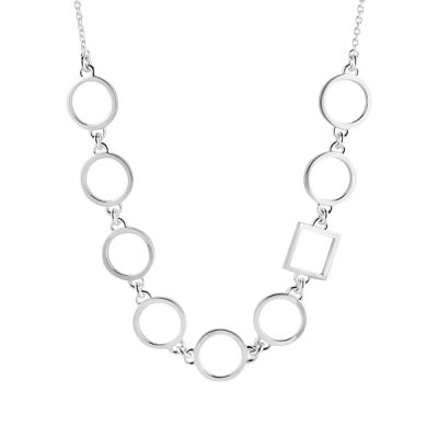 Circle Square necklace