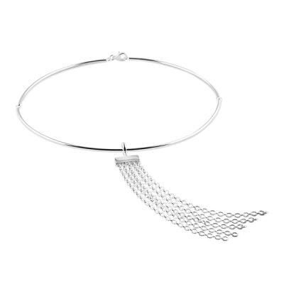 Fringe Wide necklace