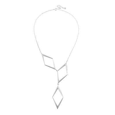 Rhomb grand necklace